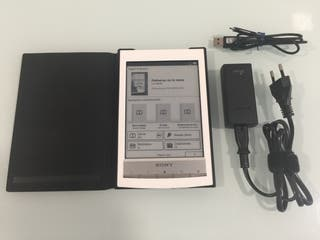 Ebook SONY PRS-T1 +cargador original +funda origin