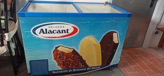 congelador de helados