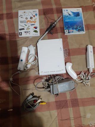 Wii completa Blanca