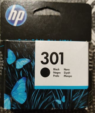 Tinta impresora HP negro 301