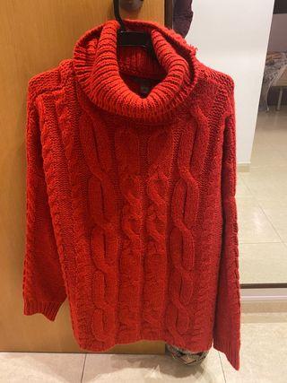 Jersey rojo lana