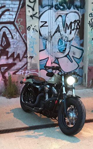 Harley Davidson Sportster XL1200X Forty-Eight