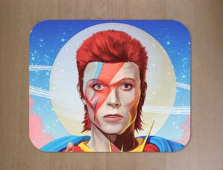 Alfombrillas de ratón David Bowie