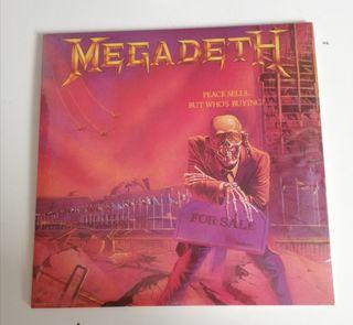 Disco vinilo color Megadeth-Peace Sells... But.