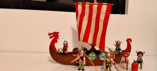 barco vikingo playmobil