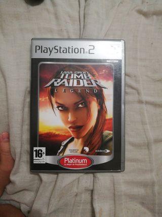 Lara Crof Tom Raider Legend