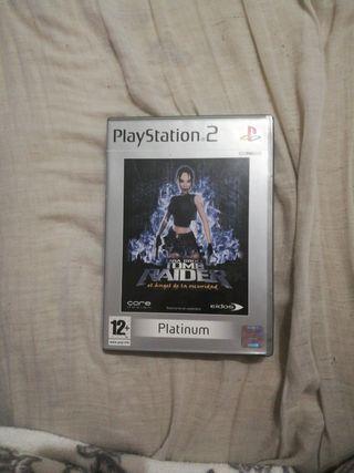 Lara Crof Tom Raider el Angel de la Oscuridad