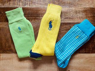 Lote 3 pares calcetines Ralph Lauren hombre