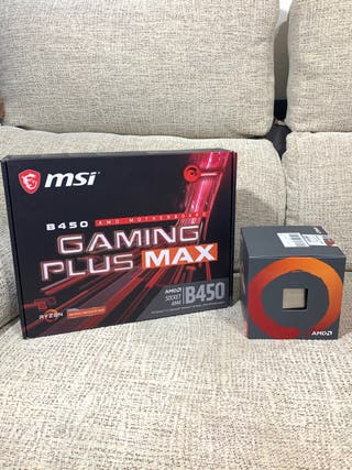 Pack Placa Base MSI Gaming y Ryzen 5 2600