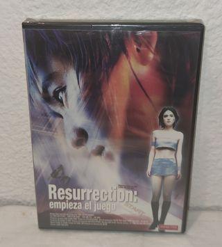 DVD PELÍCULA RESURRECCTION: EMPIEZA EL JUEGO NUEVA