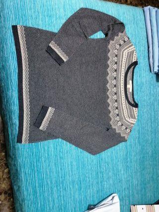 Jersey de lana fino, talla M