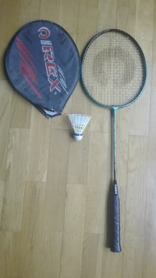 Raqueta de badminton