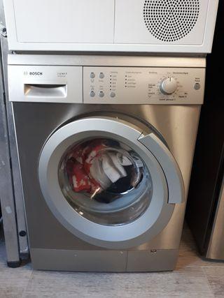 lavadora inox 8kg bosch