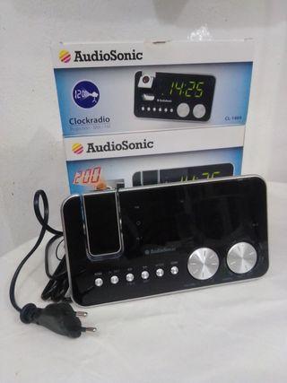 radio despertador audio sonic