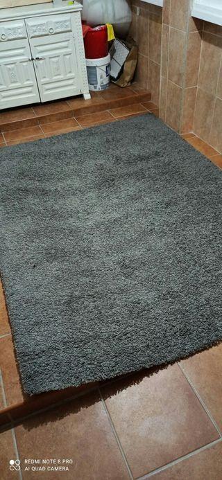 alfombra ikea gris