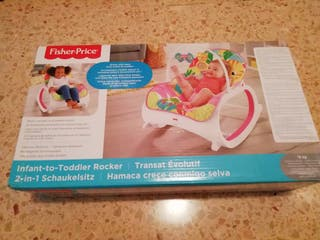 Hamaca balancin Fisher-Price.