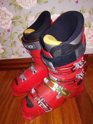 botas esquí Salomón niño