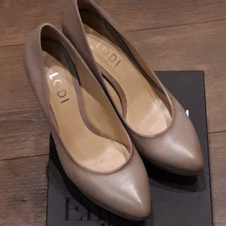 Zapato con plataforma TIRELA de LODI color beige