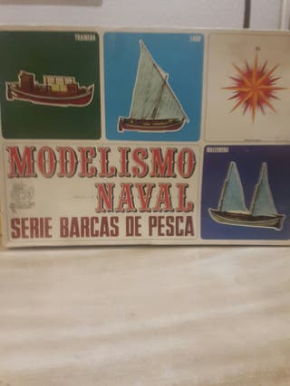 Maqueta de barca ballenera.