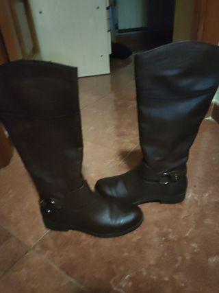 botas mujer marrones