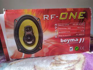 altavoces beyma 6x9 rf693 rf-one nuevos!