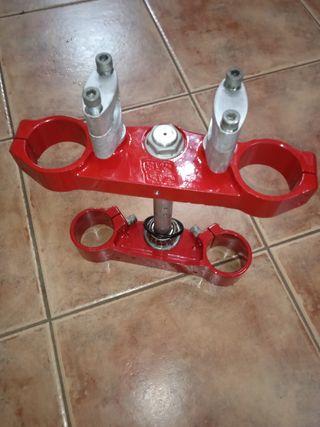 Tijas rojas Gas Gas EC 250. 43 mm y 45 mm