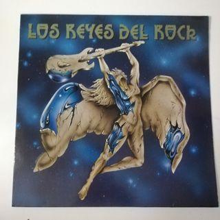 Doble disco vinilo Los Reyes del Rock.