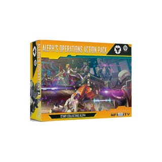 NEW Infinity Aleph Operations Action Pack juego