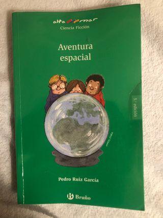 Libro aventura espacial