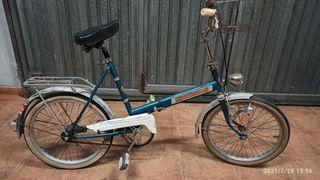 bicicleta antigua plegable automini