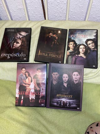 Saga Crespúsculo DVD