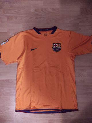 2a equipación FC Barcelona 2006-07