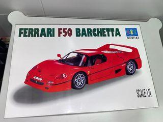 Maqueta Ferrari F50 Barchetta 1:24