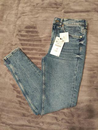 Jeans premium 80s skinny bering blue ZARA