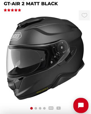casco shoei gt-air 2 talla s