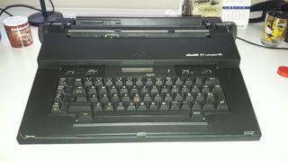 màquina de escribir elèctrica