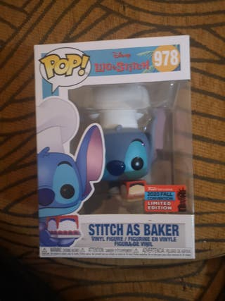funko stitch as baker