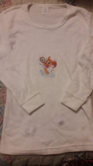 Camiseta interior infantil nueva