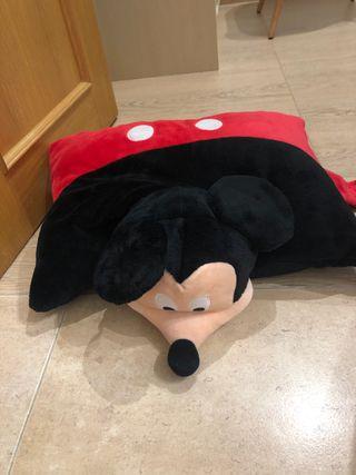 Cojín de Disney con cara Mickey Mouse