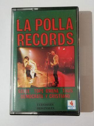 Cinta Cassette La Polla Records.