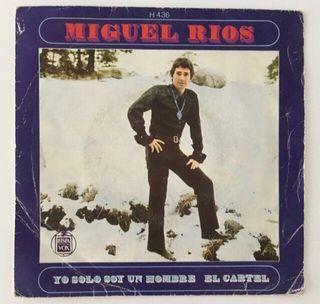 MIGUEL RIOS Disco Vinilo Single