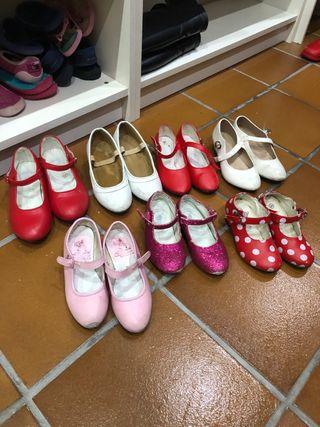 Zapatos de tacón de niña