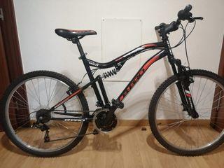 """bicicleta doble suspensión 26"""" pulgadas"""