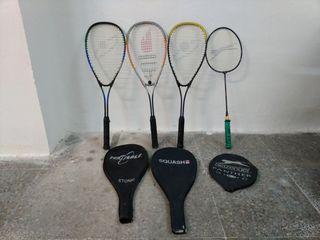 Raquetas de Squach