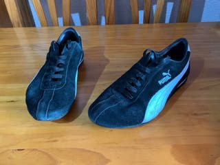 zapatillas puma negras