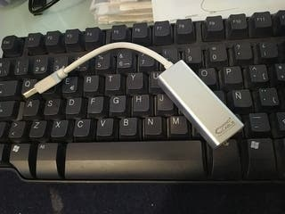 Nano Cable Usb gigabit ethernet adaptador