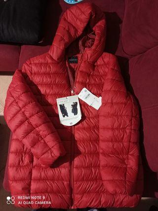 abrigo acolchado premamá