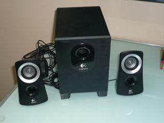 Logitech Speaker System Z313 Altavoces 2.1