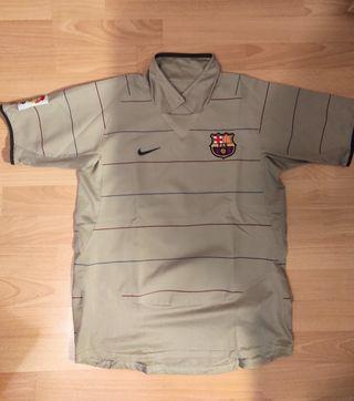 2a equipación FC Barcelona 2003-04