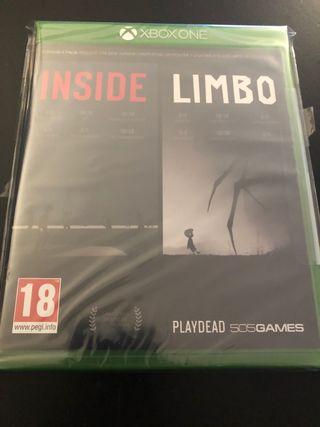 Inside y Limbo PAL ESP Nuevo precintado. Xbox
